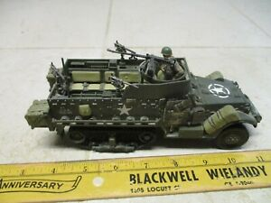 Ultimate Soldier 1/32 US M3A1 Halftrack Personnel WWII Rare 21st Century Toy