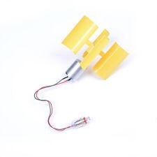 DIY Mini Dc Motor Vertical Micro Wind Turbines Blades Generator Set Kit S*jn