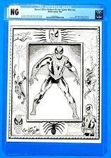 1963 CGC AMAZING SPIDERMAN STEVE DITKO MARVEL PIN-UP * Pre-MMMS / Marvelmania