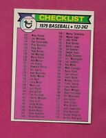 1979 OPC # 241 UNMARKED CHECKLIST NRMT-MT CARD (INV# A3991)