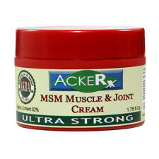 Colorado Hemp Oil  MSM Muscle & Joint Cream Ultra Strong