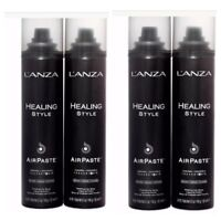 4 Pack Lanza Healing Style AirPaste Air Paste Finishing Hair Spray 5.1 oz. New