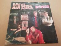 """JASON & THE SCORCHERS * ABSOLUTELY SWEET MARIE * 7"""" SINGLE P/S 1984 ROCK N' ROLL"""