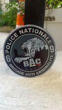 AUTOCOLLANT STICKERS ROND FANTAISIE POLICE BAC DE LYON BRIGADE ANTI CRIMINALITE