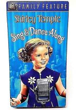 Shirley Temple Sing And Dance Along Color Film Musical VHS Tape 1998