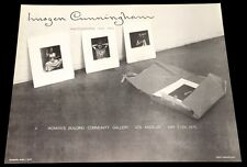 IMOGEN CUNNINGHAM (1975) C. MARSH / WOMEN'S COMMUNITY PRESS + COA!