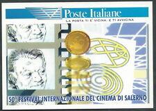 1997 ITALIA CARTOLINA POSTALE FESTIVAL CINEMA DI SALERNO - F