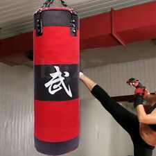 70cm Heavy Duty Punching Training Bag Boxing Martial Arts Kicking Sandbag
