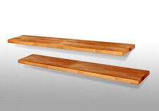 Wandboard DANI II Massivholz geölt Kernbuche Regal Steckboard 120 cm
