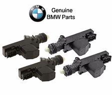 For BMW E34 5-Series Set of 2 Front & Rear Door Lock Actuator Kit Genuine