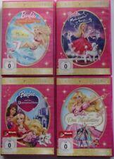 Barbie 4 DVD 315 Min. Drei Musketiere + Modezauber in Paris + Diamantenschloss +