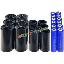 6xAA C Battery +6xAA D convertitore della batteria+12xAA 3000mAh batteria