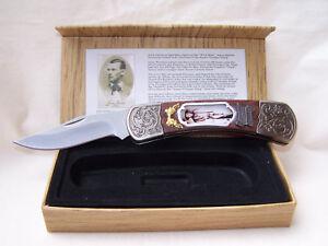 Western - Klapp - Messer * Jesse James *  im Geschenkkarton