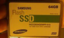 """Macbook Air A1237 Samsung MCCOE64GEMPP-01A 64GB 1.8"""" 1.8 ZIF SSD PATA IDE"""