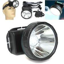 30W 3600MAH White LED Mining Lamp Miner Light Hunting Camping Fishing Headlight