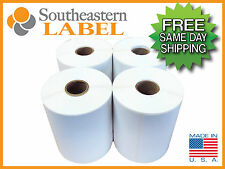 4x6 Direct Thermal Zebra 2844 Eltron 4 Rolls 1,000 Labels * FREE SHIPPING *