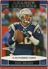 Topps New England Patriots Modern (1970-Now) Football Cards