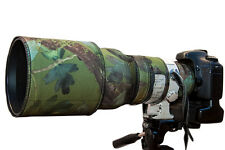 Canon 300mm f2.8 Non IS neoprene lens protection camouflage coat cover Woodland
