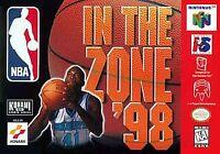 NBA In The Zone 98 (Nintendo 64) N64
