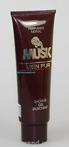 Nerval Musk Men Pur 125 ml Shower Gel