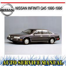 NISSAN INFINITI Q45 1990-1996 WORKSHOP REPAIR SERVICE MANUAL ~ DVD