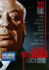 ALFRED HITCHCOCK A Legacy of Suspense 20 FILMS DVD 4-Disc Set, New DVD, ,
