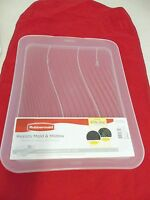 RUBBERMAID 1855236 LARGE UNIVERSAL DRAIN BOARD  TRAY SHORT END CLEAR NEW