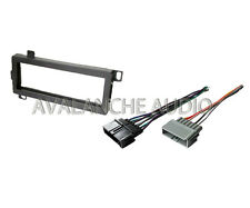 Car Audio Stereo Radio Deck Installation Kit With Wire Harness For New CD Player