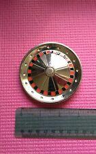 Roulette Wheel belt buckle turns