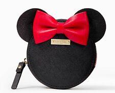 NWT Kate Spade for minnie mouse Leather Coin Purse Disney! Rare Ltd Edition!