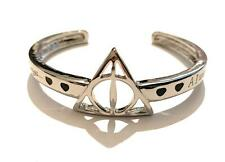 Harry Potter Bracciale Bangle Doni Della Morte Always Piton Hogwarts Nichel Free