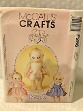 MCCALL'S CRAFT PATTERN FOR KEWPIE DOLL #P286 BRAND NEW RETIRED HARD TO FIND