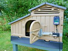 Snap Lock Coop Automatic Door Opener/Closer - Hentronix. Solar Powered.