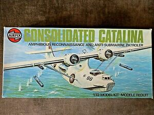 AIRFIX CONSOLIDATED CATALINA FLYING BOAT 1/72 SCALE MODEL KIT NO.5007SERIES 5