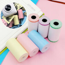 6 Rolls Thermal Print Paper Self-adhesive Sticker for PeriPage Mini Printer Kit