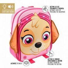 Bnwt Officiel Nickelodeon Paw Patrol Skye Chapeau Tricoté Pompon Chapeau Rose Chien 1-3 Y
