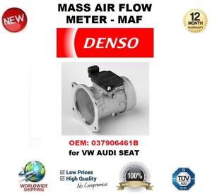 DENSO MAF MASS AIR FLOW METER SENSOR OEM: 037906461B for VW AUDI SEAT OE QUALITY