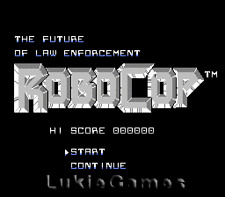 Robocop Robo Cop - NES Nintendo Game