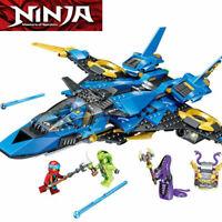NINJAGO Legacy Jay's Storm Fighter 70668 528pcs Building Blocks Bricks Nya model
