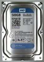 500GB SATA WD WD5000AAKX-00U6AA0  7200 UPM Festplatte generalüberholt