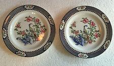 Pair of Corona Ware Rockery & Pheasant Luncheon Plates