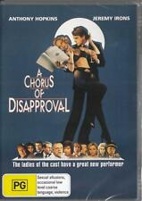 A CHORUS OF DISAPPROVAL - ANTHONY HOPKINS - NEW & SEALED DVD - FREE LOCAL POST