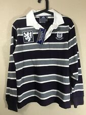 Scottish Experience Royal Mile Scotland Long Sleeve Men's Striped Shirt Small S