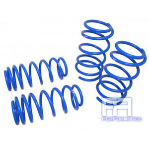 """Manzo Lowering Lower Springs Spring for Toyota Matrix 03-08 FWD F: 2.3"""" R: 2.1"""""""