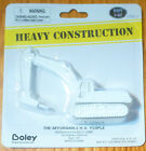 Boley HO 185-23057 Concrete Breaker Pneumatic Jackhammer on Crawler -- white