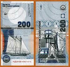 Cape Verde, Africa, 200 Escudos, 2005, P-68, UNC