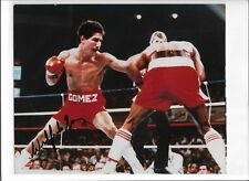 "Wilfredo ""Bazooka"" Gomez Autographed 8x10 - Three time Boxing Champion"