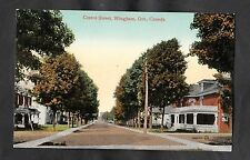 C1910 View of Centre Street, Wingham Ontario, Canada