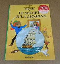 HERGE - TINTIN - LE SECRET DE LA LICORNE - EN CH'TI ( TTBE )