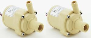 Two (2) - 102 GPH 12V Pump